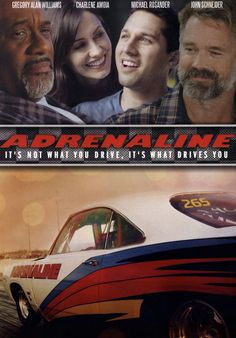 #970. Adrenaline, October, 2016. Joseph Jenkins is a street racer whose life is turned upside down after a near fatal car crash, leaving him semi paraplegic. Forced to face his new circumstance, he struggles to walk, to trust, to love, and ultimately, race again. He is aided by his friend Trace Mallery, his physical therapist Josie Rigsby and his new found guide to life, Elijah Salisbury.