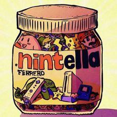 Nintella nintendo cocoa spread
