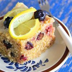 Blueberry Quinoa with Lemon Glaze Allrecipes.com
