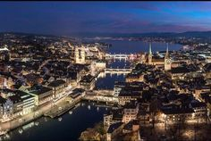 The pilot lands smoothly on runway Welcome to Zurich. Fasten your seatbelt for a three minute long, fantastic roller-coaster ride like visit to Switzerland's… Switzerland Cities, Visit Switzerland, Bern, Lake Zurich, S Bahn, Roller Coaster Ride, Train Rides, Alps, Paris Skyline