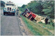 SCANIA: Scania ''Bärgningsbil'' bij een gekantelde R.S.K. ...