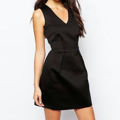 Asos - Black Dress Get it today !! Don't miss out!!  Asos - never worn before! ASOS Dresses