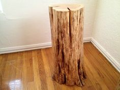Crimson And Clover Cedar Log End Table