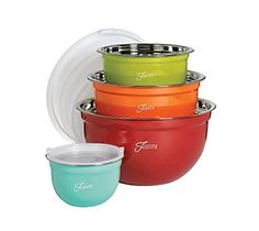 Fiesta Nested 8pc Bowl Set *** Amazon most trusted e-retailer  #MixingBowls