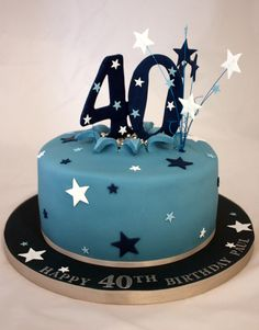 40th Birthday Cake » Vanilla Bean Company