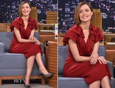 Rose Byrne In Jenny Packham – The Tonight Show Starring Jimmy Fallon