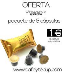 Bajamos los precios en cápsulas de café para Nespresso® #capsulas #cafe