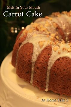 Melt In Your Mouth Carrot Cake