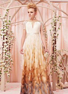 Daffodil A-line Beading Chiffon Charming Prom Dress - Milanoo.com