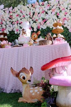 Kara's Party Ideas Bambi Inspired Woodland Birthday Party | Kara's Party Ideas