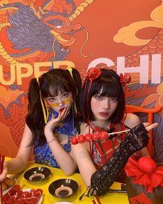 Matching Outfits Best Friend, Korean Beauty Girls, Ulzzang Korean Girl, Uzzlang Girl, Selfie Poses, I Love Girls, Magical Girl, Anime Art Girl, Aesthetic Girl