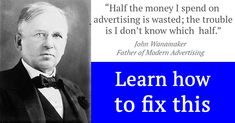 John Wanamaker is a legend in marketing and in his day, finding wasted advertising was impossible. The world has changed and the good news is his statement is no longer entirely true. Today, we can measure things that were impossible in Mr. Wanamaker's day. This is especially true in digital advertising. Google Analytics gives us… Google Analytics, Google Ads, Competitor Analysis, Advertising Campaign, Good News, Things That Bounce, Improve Yourself, Social Media, Content