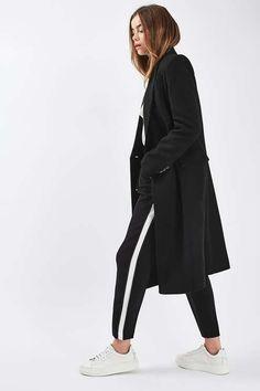 46e1d74f9ab Image result for Sport max classic cut coat Black Coat Outfit