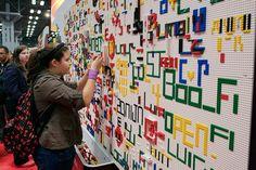 LEGO Wall | Flickr - Photo Sharing!