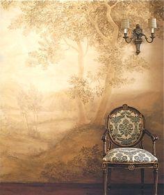 French Trompe Lu0027oeil Wallpaper By Christophe Koziel | Boiserie | Pinterest  | Wallpaper, Walls And Interiors