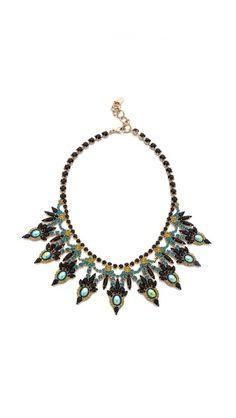 Elizabeth Cole bib necklace