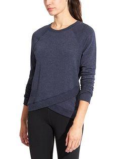 cross cross sweatshirt   athleta   S