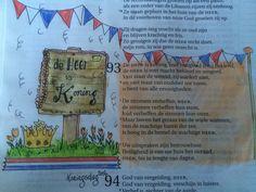 Koningsdag Biblejournaling Craftbijbel Psalm93