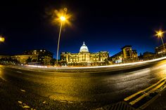 Glasgow at night. Glasgow, Mansions, Night, House Styles, Pictures, Home, Photos, Manor Houses, Villas