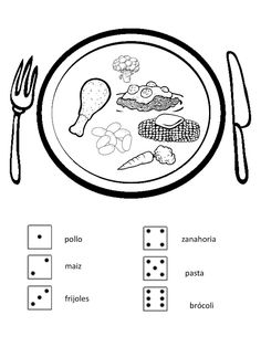 Teaching Food in Spanish for Preschool Classes Lessons and