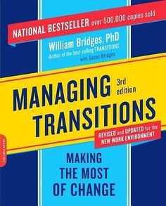 Managing Transitions - As a church moves forward and makes changes, not everyone will make the transition at the same pace. While this is technically a business resource, it also helps pastors learn to manage transitional periods and love people through those transitions.