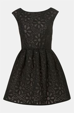 Embroidered Organza Party Dress | Topshop.