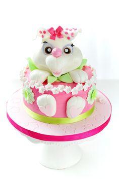 Kessy's Pink Sugar: Pink Bunny Torte