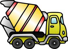 Mixer Truck Clip Art