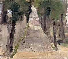 Start From Where You Are : Helen Schjerfbeck Landscape Helene Schjerfbeck, Landscape Art, Landscape Paintings, Tree Paintings, Art Eras, Female Painters, True Art, Abstract Images, Color Of Life
