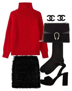 """""""Untitled #1661"""" by emmalovesclothes20 ❤ liked on Polyvore featuring Vanessa Bruno, Gucci, Accessorize and Miu Miu"""
