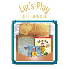 "Let's Play - Age 2 and up - This action packed bundle includes a book, CD, and DVD celebrating a variety of activities and fun for a toddler. Includes ""Are You Ready to Play Outside?"" (book), ""Babypro: Let's Play Ball"" (DVD) and ""Toddler Sing Playtime"" (CD). - $34.95"
