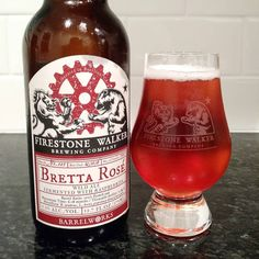 Bretta Rosé from @firestonewalker is our second beer for #sourbeerday #barrelworks