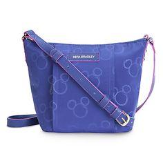 Mickey Mouse Preppy Poly Crossbody Bag by Vera Bradley - Violet