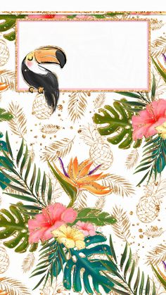 How Herb Back Garden Kits Can Get Your New Passion Started Off Instantly Iphone Wall Tjn Screen Wallpaper, Wallpaper Backgrounds, Pattern Wallpaper Iphone, Wallpaper Ideas, Tropical Wallpaper, Deco Floral, Tropical Pattern, Binder Covers, Cute Wallpapers