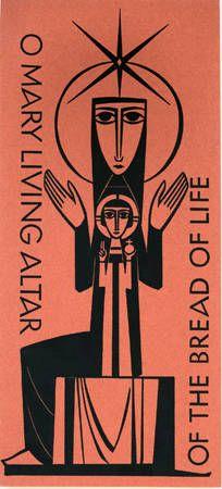 Mary, Living Altar