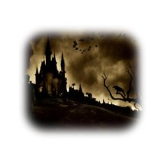 Untitled ❤ liked on Polyvore featuring castles, backgrounds, creepy and halloween