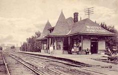 Old Whitby, Ont. Train station