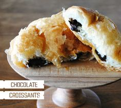 trader joes chocolate croissants-- amazing heaven