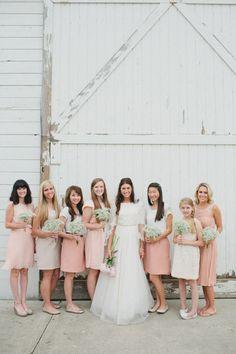 Blush Pink | Modest Bridesmaids