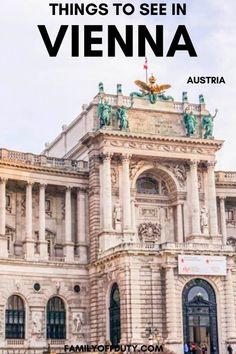 A list with the 11 best things to do in Vienna. This post will give you some ideas of what to do, see, eat and where to stay while visiting Vienna, Austria. Travel Around Europe, Europe Travel Guide, Packing Tips For Travel, Travel Guides, Travel With Kids, Family Travel, Vienna Christmas, Christmas Things To Do, Austria Travel