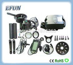 8Fun/Bafang BBSHD/BBS03 mid drive motor kits with 48V 14Ah little frog battery for fat tire bike