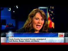 """CNN's Candy Crowley Debate Moderator >>> """"Romney Was Actually Right On Libya"""" - Now, trying to talk her way out of her mistake - A little too late after the debate is over!!!! - Completely ruined her credibility ~~~ See Video"""