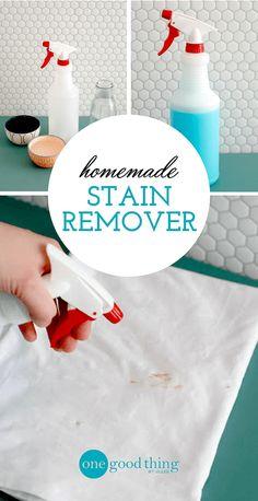 Homemade Stain Remover Spray