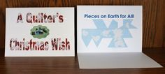 Quilting Greeting Cards Christmas Birthday by Sophiagoestothedogs, $15.95