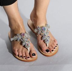 Silver Sandals, Leather Sandals, Mystique Sandals, Types Of Women, Wedding Shoes, Classy, Wedges, Pairs, Handmade