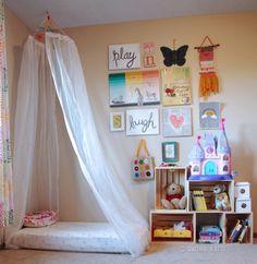Easy Canopy Girls Room