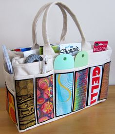 Printing with Gelli Arts - Gelli print a hand bag!