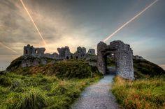 'Rock of Dunamase, Co. Laois, Ireland'.