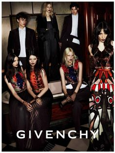 An image from the Givenchy fall 2014 campaign.