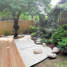 Creative Wood Backyard Designs For Landscaping Ideas 32